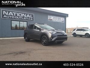 2017 Toyota RAV4 SE - HEATED LEATHER, SUNROOF, BACK UP CAMERA