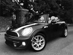 2012 Mini Cooper S Convertible Low Km  WOW! $23,995.00...SOLD!