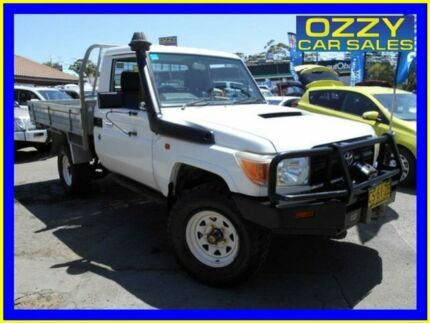 2009 Toyota Landcruiser VDJ79R Workmate (4x4) French Vanilla 5 Speed Manual Cab Chassis Penrith Penrith Area Preview