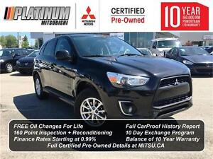 2014 Mitsubishi RVR SE AWD - Financing Starting at 0.99%