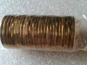 Canada 2010 Olympic Lucky Loonie coins, one unopened roll