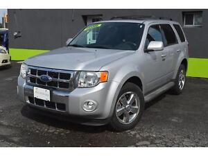 2009 Ford Escape Limited 4WD V6 with SUNROOF