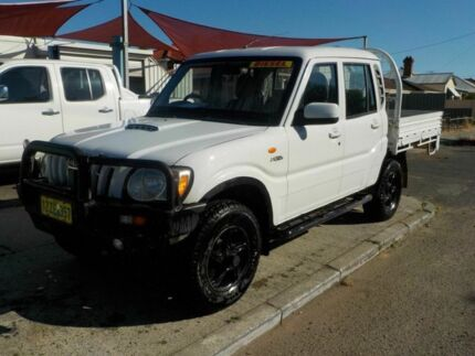 2010 Mahindra Pik-Up S5 MY10 White 5 Speed Manual Cab Chassis Victoria Park Victoria Park Area Preview