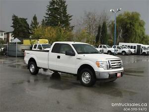 2010 FORD F-150 XLT EXT CAB LONG BOX 4X4 ONLY 87,000KM!