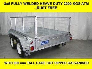 8x5 FULLY WELDED HOT DIP GALVANISED TRAILER 2000kg Adelaide CBD Adelaide City Preview