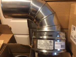 new in boxes Selkirk chimney for oil or gas