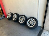 Genuine Audi Alloys Alloy Wheels 205/55/16