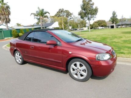 2002 Holden Astra TS 4 Speed Automatic Convertible