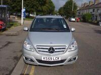 Mercedes Benz B CLASS 1.5 B160 SE CVT 5dr, 2010 model, Automatic, Long MOT, Very low mileage
