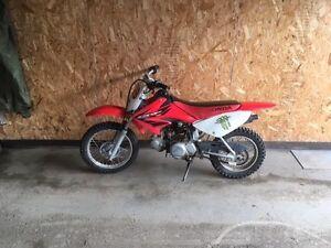 Motocross CRF 70cc (VENDU)