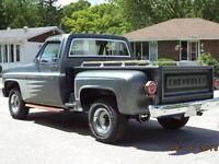 1981 Chevrolet C/K Pickup 1500 Step Side Pickup Truck