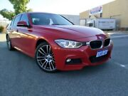 2012 BMW 328i F30 Sport Line Red 8 Speed Automatic Sedan Malaga Swan Area Preview