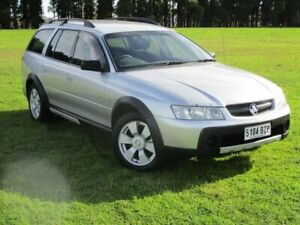 2005 Holden Adventra VZ SX6 Silver 5 Speed Automatic Wagon Gepps Cross Port Adelaide Area Preview
