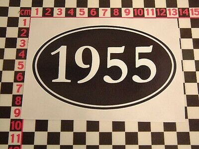 All Years Sticker   Morris Austin Standard MG Talbot Bentley Daimler Birthday