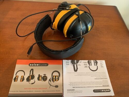 Noise Buster PA 4000 ANR Noise Cancelling Safety Earmuff Hard to find