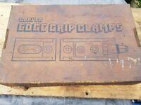 Carver edge grip clamps T500/1 & T500/2