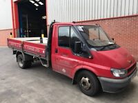 Red Dropside Transit with 12 months MOT