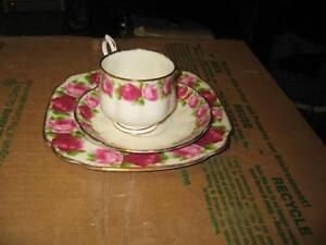 Royal Albert - Old English Rose - 3 Pieces ON HOLD