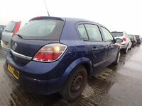 VAUXHALL ASTRA MK5 BREAKING MOST PARTS AVAILABLE RING FOR MORE INFO USED