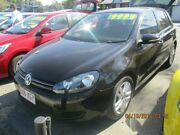 2010 Volkswagen Golf COMFORTLINE TSI Black 6 Speed Manual Hatchback Lawnton Pine Rivers Area Preview