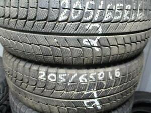 205/65 R16 MICHELIN X-ICE USED TIRE (SINGLE TIRE) - APPROX. 95% TREAD