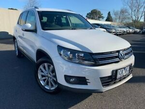 2012 Volkswagen Tiguan White Sports Automatic Dual Clutch Wagon Heidelberg Heights Banyule Area Preview