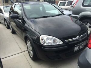 2004 Holden Barina XC MY04 SXI Black 4 Speed Automatic Hatchback Georgetown Newcastle Area Preview