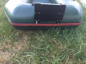 Solstice Inflatable Boat with motor mount