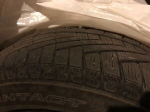 Pneus  extreme winter continental tires 195/65r15