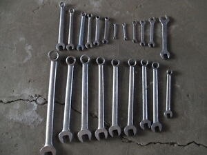 Heavy duty vintage Gray professional grade wrenches