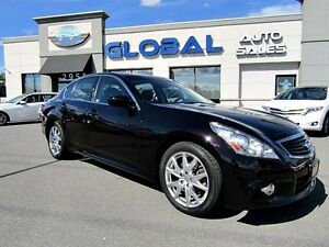 2013 Infiniti G37X 37x SPORT AWD LEATHER NAVIGATION