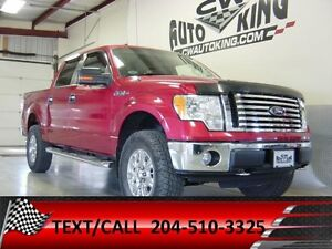 2010 Ford F150 Supercrew 4x4 / Lift / Rubber / Low Kms