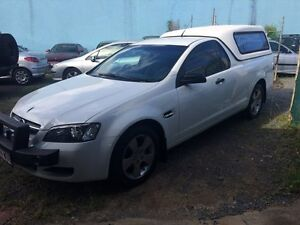 2009 Holden Commodore VE Omega White Automatic Utility Ashmore Gold Coast City Preview
