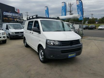 2011 Volkswagen Transporter T5 MY10 132 TDI SWB Low 7 Speed Auto Direct Shift Van Lilydale Yarra Ranges Preview