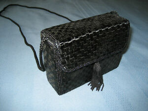 Alfred Sung Beaded Box Purse