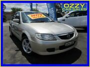 2003 Mazda 323 BJ Protege Shades Silver 4 Speed Automatic Sedan Minto Campbelltown Area Preview