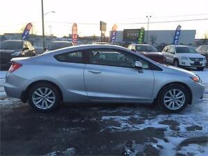 2012 Honda Civic Cpe EX-L LEATHER NAVI ROOF LOW KM!!