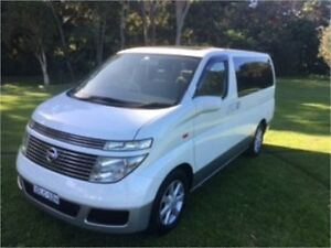 2002 Nissan Elgrand E51 Rider White Automatic Wagon North Manly Manly Area Preview
