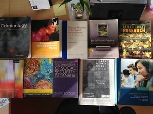 Social Work (and other) text books Sarnia Sarnia Area image 1