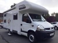 2007 6-berth Pilote Renault Mooveo C647 motorhome for sale with bunk beds