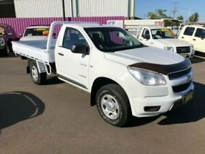 2013 Holden Colorado RG DX (4x2) White 5 Speed Manual Cab Chassis Dubbo Dubbo Area Preview
