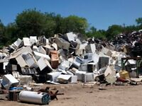 FREE pick up of scrap metals or appliances.