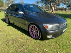 2000 Lexus IS200 GXE10R Sports Luxury 4 Speed Automatic Sedan Tuggerah Wyong Area Preview