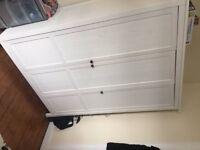 White Triple Wardrobe & Matching Chest of Drawers