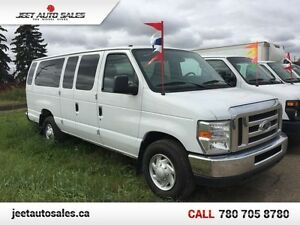 2012 Ford E-350 Super Duty XLT 15 Passenger Van! Great Condition