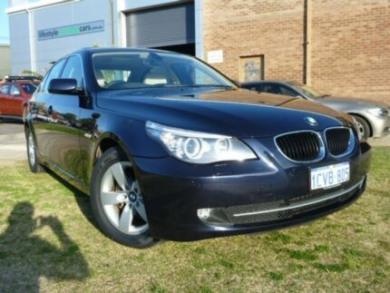 2008 BMW 520D E60 Professional Blue 6 Speed Automatic Sedan Alfred Cove Melville Area Preview