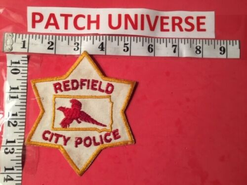 REDFIELD CITY SD POLICE  SHOULDER PATCH  R087