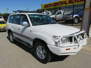 2002 Toyota Landcruiser TD 4.2 Factory GXV White 4 Speed Auto Active Select Wagon Reynella Morphett Vale Area Preview