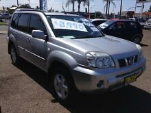 2006 Nissan X-Trail T30 TI (4x4) Silver 4 Speed Automatic Wagon Broadmeadow Newcastle Area Preview