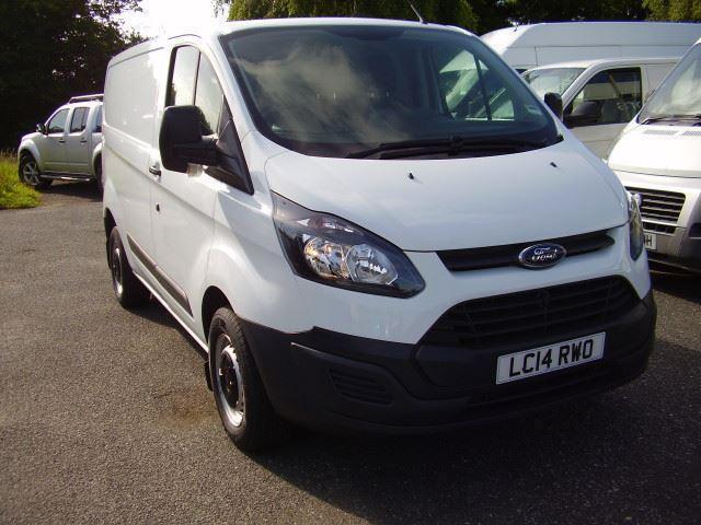 Ford Transit Custom L1 290 100ps DIESEL MANUAL 2014